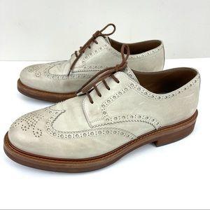 Brunello Cucinelli Leather Brogues Derby